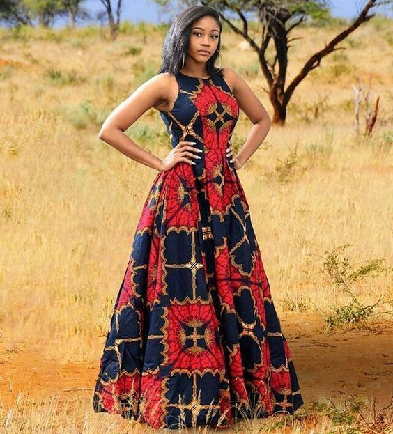 2018 African Dress Styles African Dresses 2018 Designs African Dresses Styles Beautiful African Dresses Late African Maxi Dresses African Dress African Fashion