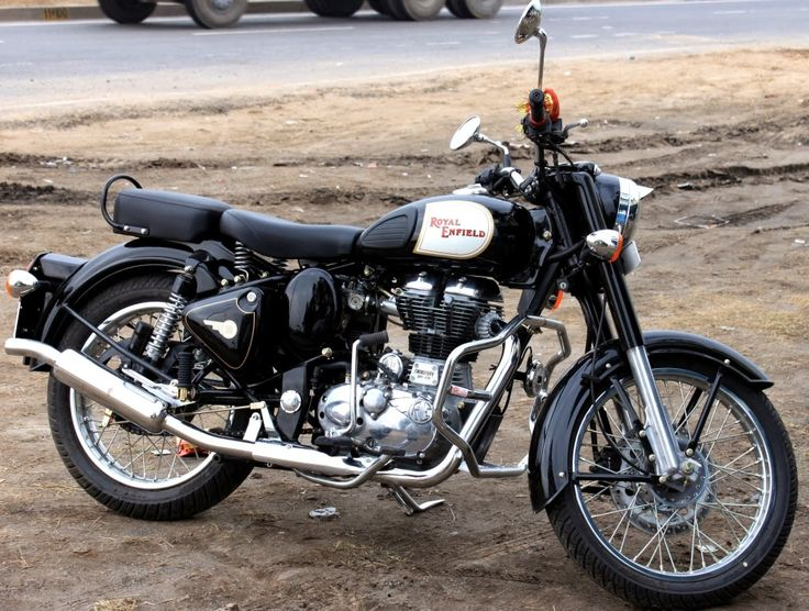 Royal Enfield Motorcycles in India