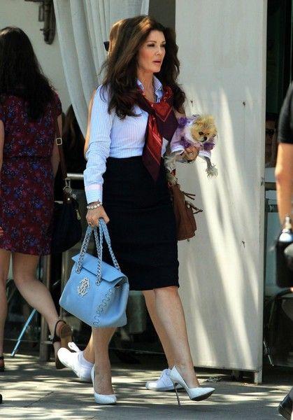 Lisa Vanderpump Photos - Lisa Vanderpump Out in Beverly Hills With Her Dog - Zimbio