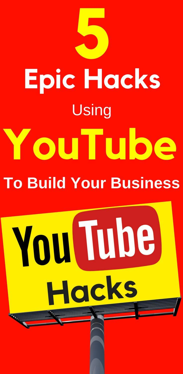 5 Epic Hacks Using YouTube To Build Your Business  Video can be a little scary. It's one of the most common blockers for would-be course creators.One way to hone your skills? Get on #YouTube. Learn more...  5 Epic #Hacks Using YouTube To #Build Your #Business