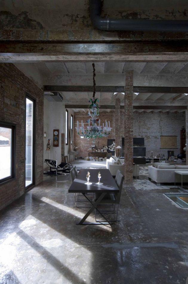 Design Crush Mondays: A Barcelona Industrial Loft