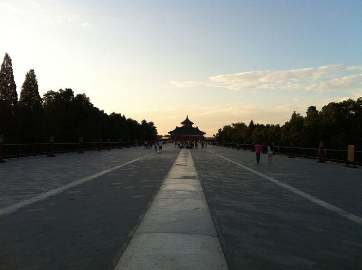 El templo del cielo. Pekín.