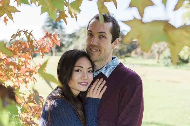 Pre-wedding. Engagement. Couple. Lovebirds. Centennial Park. Autumn leaves. Fall. www.momentsphotography.com.au