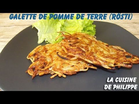 (80) Galette de Pomme de Terre - YouTube