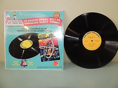 The-Time-Machine-Vinyl-Record-Classics-Story-Teller-1966-Golden-Records-Shrink