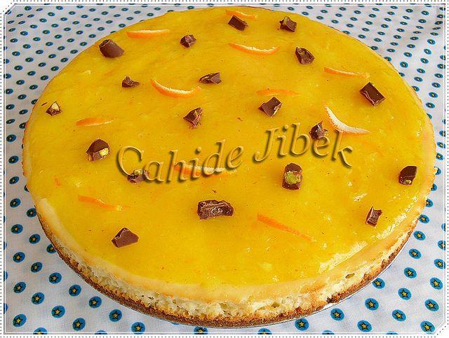 PORTAKALLI CHEESECAKE: Portak Cheesecake