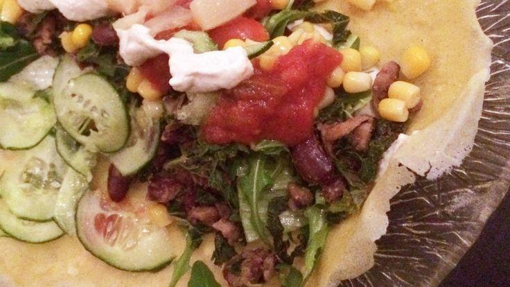 Glutenfri tortillas med kikerter og soyamelk