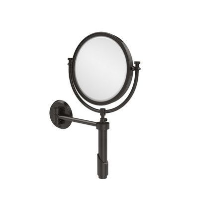 Allied Brass Universal Extendable Mirror Magnification: 3x, Finish: Oil Rubbed Bronze