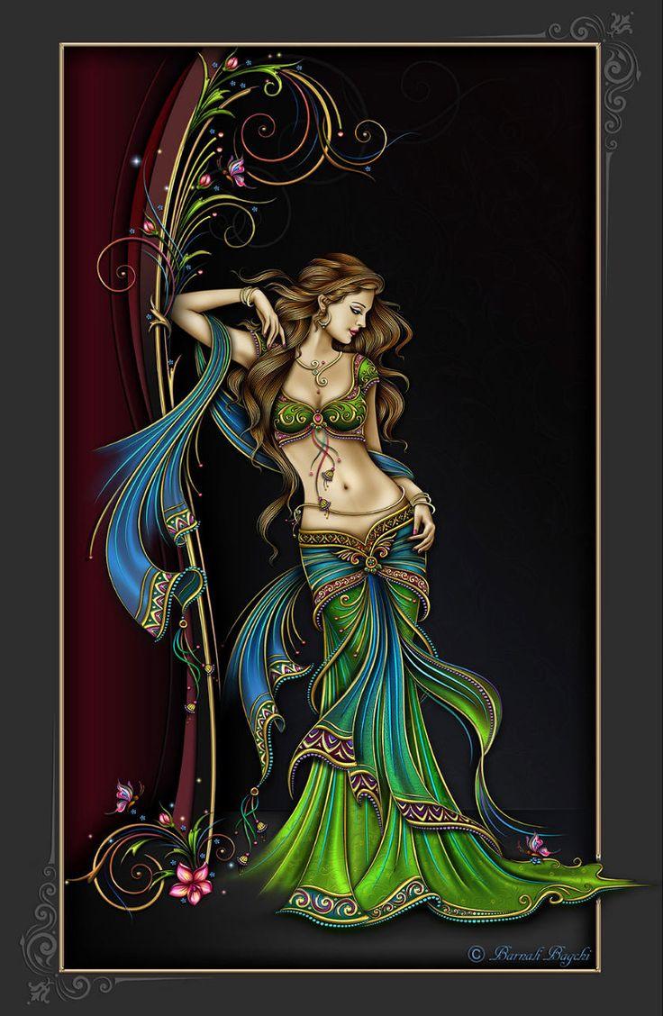 Graphics. Indian girl. - Графика. Индийские девушки.. Обсуждение на LiveInternet - Российский Сервис Онлайн-Дневников
