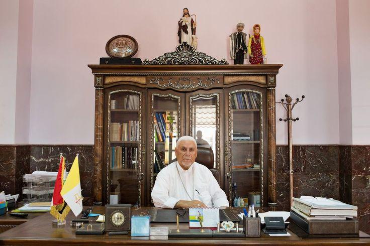 Mgr Yohanna Petros Mouché, archevêque syriaque catholique de Mossoul et de Karakoch, En savoir plus sur http://www.lemonde.fr/proche-orient/article/2015/03/28/il-y-a-un-risque-de-disparition-de-l-eglise-syriaque-irakienne_4603263_3218.html#poKjg9k22m6xrJrz.99- Matt Cetti-Roberts / MAXPPP
