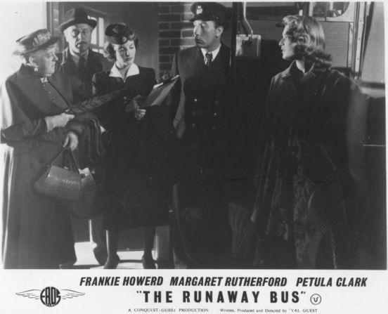 Margaret Rutherford, Petula Clark, Frankie Howerd, Belinda Lee
