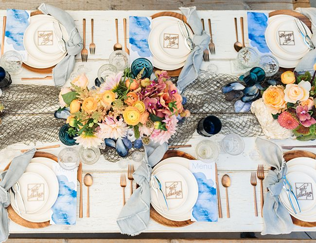 A Colorful Spring Clambake Party - Inspired By This