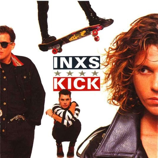 INXS first time I saw them on tour and met Michael Hutchence.  I'll never forget it.  Amazing.  But not the first INXS album that formed my playlist.