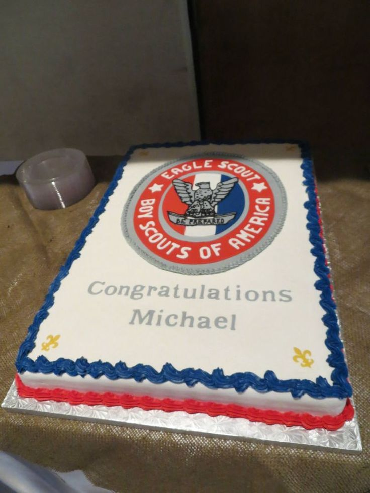 Images Of Boy Scout Cakes