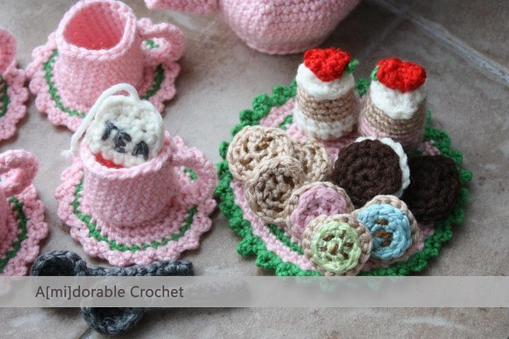 """Free pattern for """"Tea Time Play Set""""!"""