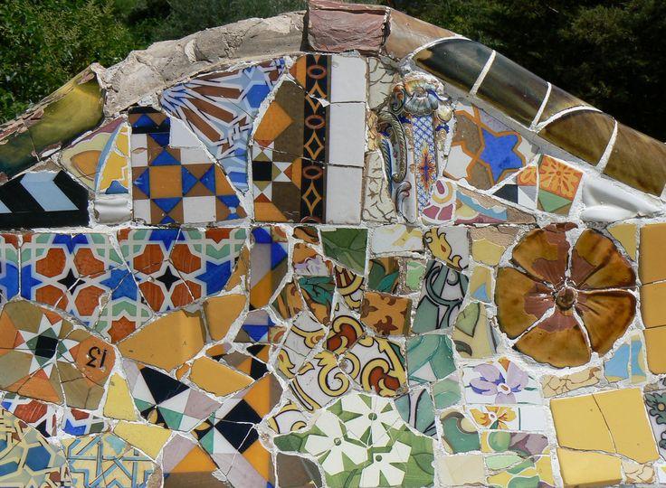 Antoni Gaudi Mosaic: Barcelona