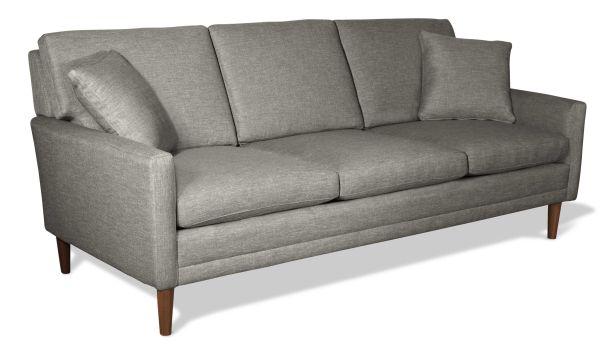 Cirque fabric three seater sofa