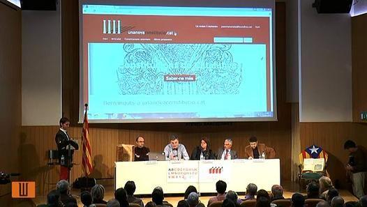 amb Santiago Vidal, Joan Matamala, Sebastià  Sardíner, Oriol Vidal-Aparicio i Patrícia Gabancho