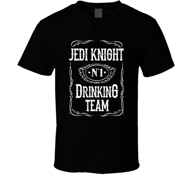 Jedi Knight Drinking Team T Shirt