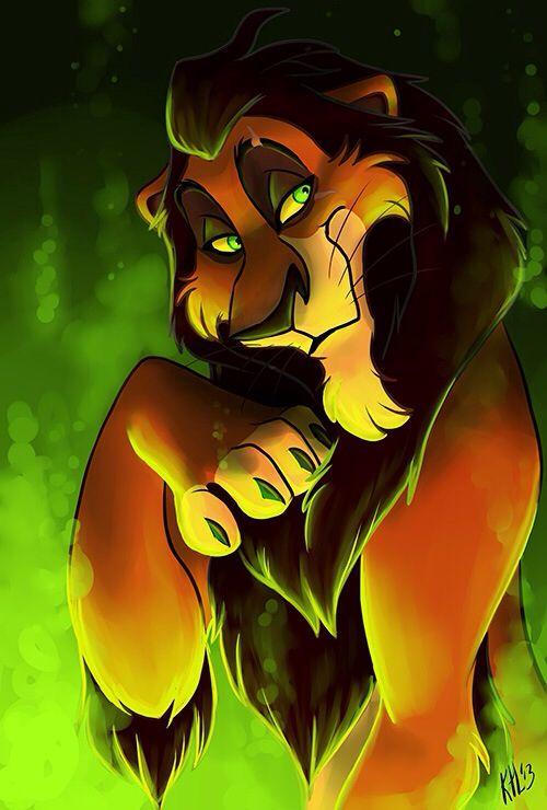 The lion king Scar