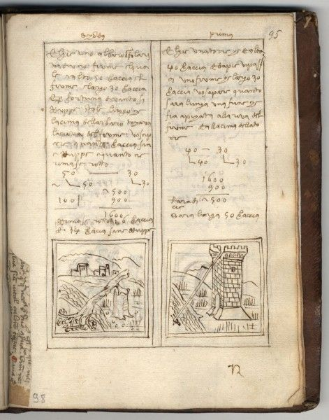 Calandri, Filippo/Monau, Peter/Scholz, Lorenz: De Arithmetica opusculum Firenze 1518, 98r
