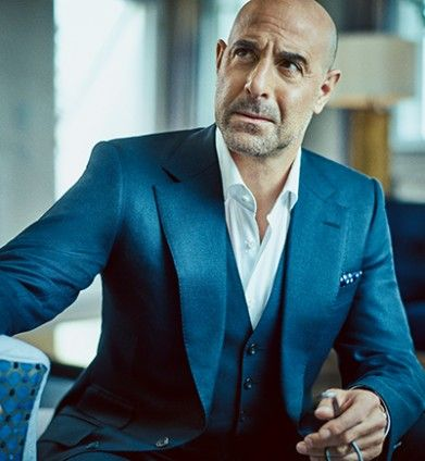 I have the craziest crush on him !!!!   | Stanley Tucci - The Rake