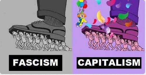 El Fascismo Vs. Capitalismo ilustrado