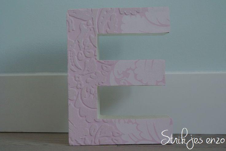 Letters pimpen. Maak de naam van je kindje nóg mooier door de letters zelf te pimpen! - Meer hier over lezen? Lees alles in Blog van Strikjes enzo ♡