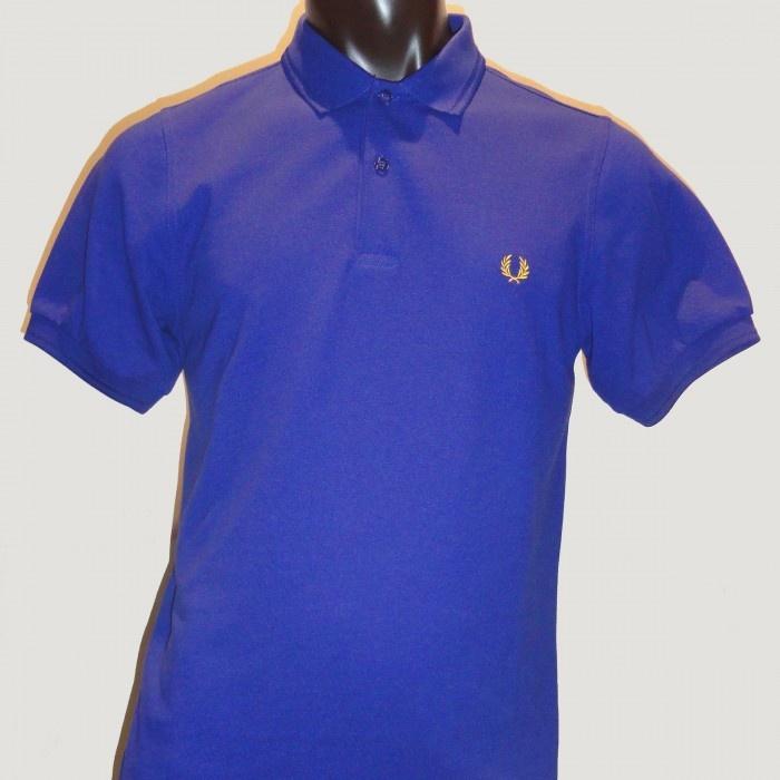 Polo Liso FRED PERRY Slim Fit Azul Tinta Logotipo Amarillo CD2594C39  79 €  http://galery.es/tienda/polo-liso-azul-fred-perry