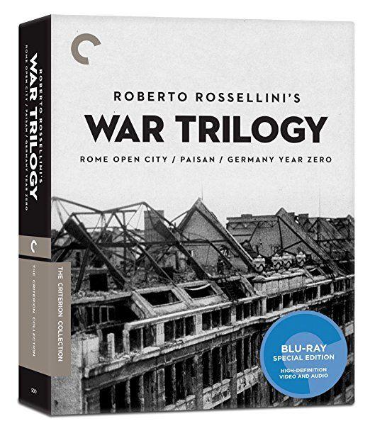 Roberto Rossellini's War Trilogy: Rome Open City, Paisan, Germany Year Zero - Blu-Ray (Criterion Region A) Release Date: July 11, 2017 (Amazon U.S.)