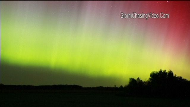 Aurora borealis - to me one of the most facinating things I have seen in my life so far. This one is in the US and was posted on deredactie.be