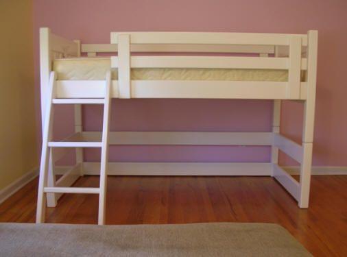 Short Loft Bed 506 x 375