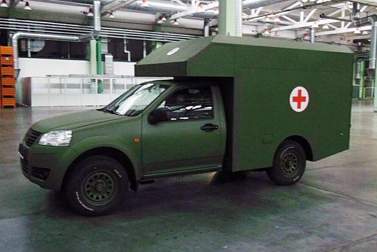 Санитарные автомобили Богдан-2251 поступят в армию до конца года