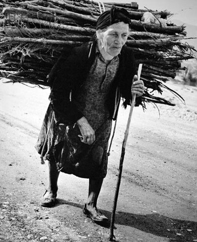 Woman from Epirus by Costas Balafas