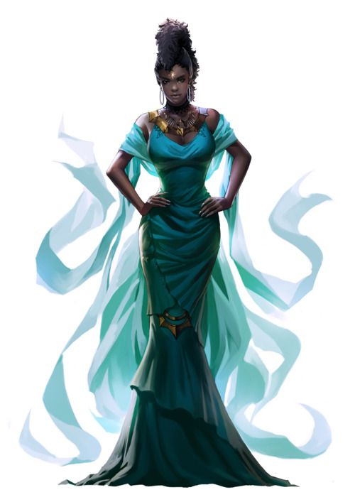 This is Queen Zahira, Ain's and Jerah's mother. Though she looks quite extravagant in this image, for a deity at the Ruling Queen rank, her ...
