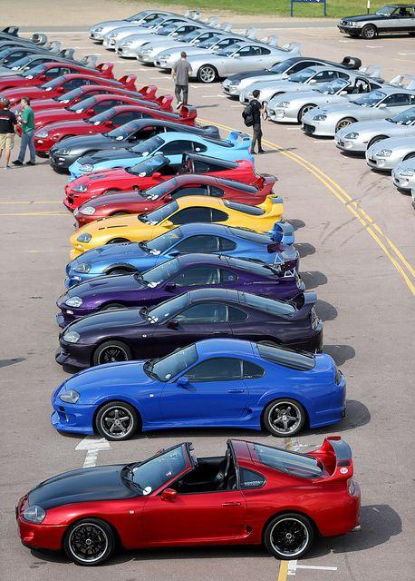 20th anniversary celebration of the Toyota Supra MkIV - Toyota UK Flickr