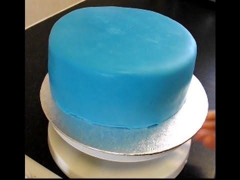 Jak  obłożyć tort masa cukrowa?