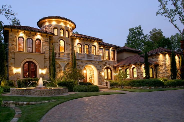 17 best images about dream homes tuscan on pinterest Mediterranean style homes houston