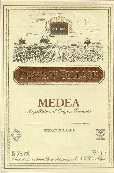 Chateau Tellagh - Medea - 1995 - Algeria