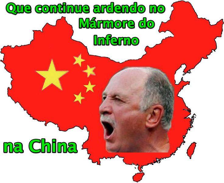 Que continue ardendo no Mármore do Inferno na China ➤ http://esporte.uol.com.br/futebol/ultimas-noticias/2015/06/04/felipao-assina-com-clube-chines-menos-de-um-mes-apos-saida-do-gremio.htm ②⓪①⑤ ⓪⑥ ⓪⑤  Felipão assina com clube chinês menos de um mês após saída do Grêmio.
