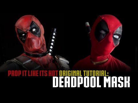 Deadpool Mask Tutorial - YouTube