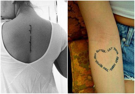 Kleine, vrouwelijke tattoo-ideeën - deel 2 - Ze.nl - Hét online magazine voor vrouwen!