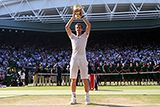 Andy Murray is crowned the Wimbledon Champion.