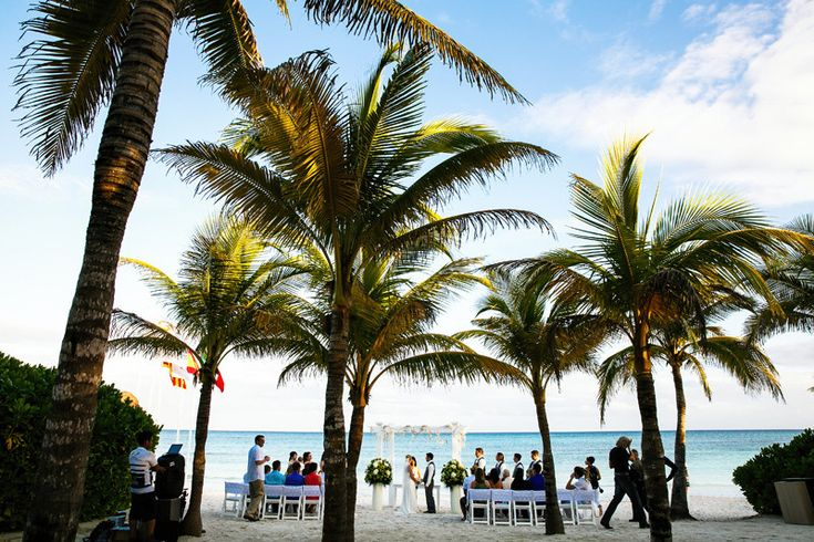 Discover the perfectly tranquil Caribbean ambiance at the #GrandPalladiumWhiteSandResort & Spa for your dream destination wedding! ~~ More details available at our Free online #IDoMexicoWeddingPlanner forum where you can join other planning couples and vendor specialists like #GrandTurizmo discussing ideas for creating unique beach weddings, #TrashTheDress sessions, and honeymoons! ~~ I Do Mexico / Riviera Maya Wedding Resorts & Hotels