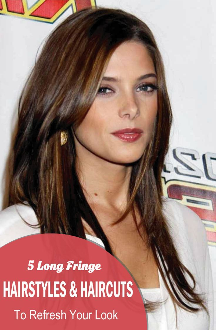 A  fringe hairstyle is a great way to design your long hairs. It offers you to g... - www.womentrends.c... - #HairstylesForWomenLong #HairstylesForWom...