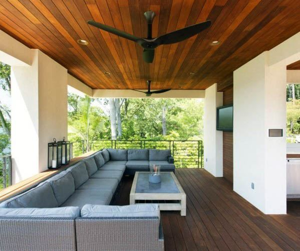 Top 50 Best Patio Ceiling Ideas Covered Outdoor Designs In 2020
