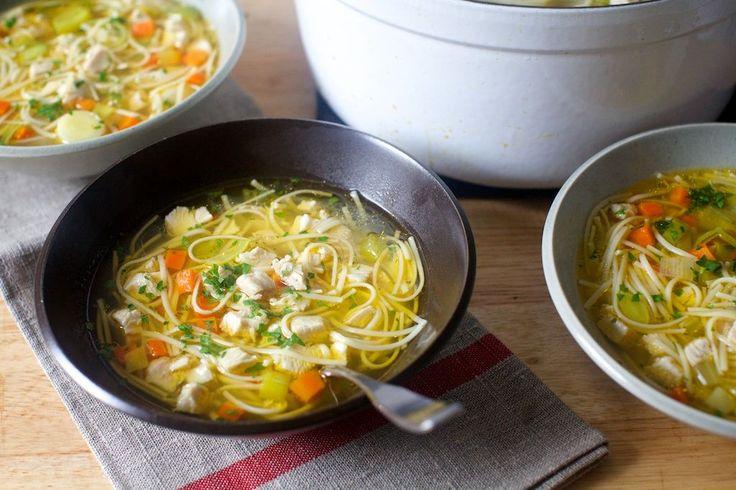 ultimate chicken noodle soup