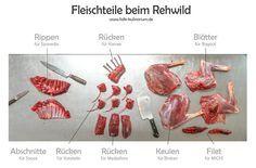 Rehbock – From nose to tail Fleischteile beim Rehwild und deren Verwendung in der Küche
