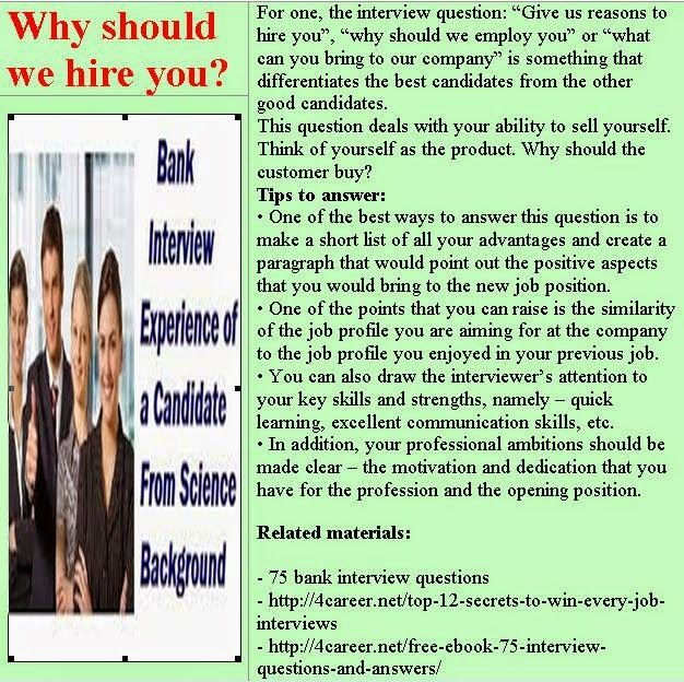 related materials 75 bank interview questions ebook interviewquestionsebookscomdownload - Banking Interview Questions And Answers