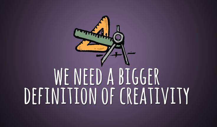 Our definition of creativity is too small. In this illustrated video, I share some thoughts on bigger definition of creativity. Enjoy this video? Please subs...